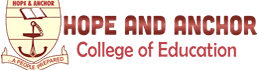 Hope and Anchor College of Education